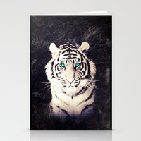 White Tiger - for iphone Stationery Cards