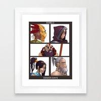 Diablo Days Framed Art Print