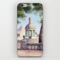 Tiny Old Mediterranean C… iPhone & iPod Skin