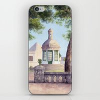 Tiny old mediterranean chapel iPhone & iPod Skin
