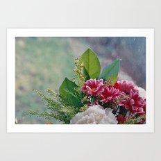 Pink Bouquet Art Print
