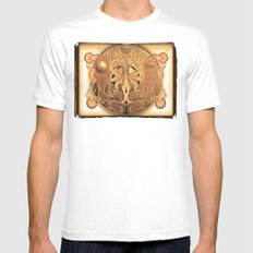 OCTO-CHAO SMALL Mens Fitted Tee White