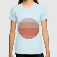Stop Complaining, Do Som… Womens Fitted Tee Light Blue SMALL