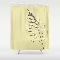 sand reed  Shower Curtain