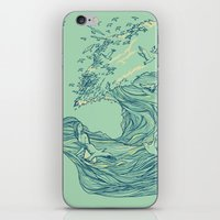 Ocean Breath iPhone & iPod Skin