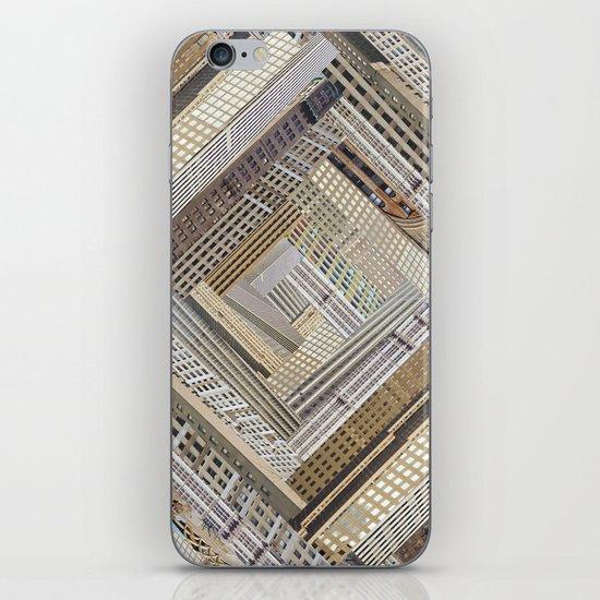 Skyscraper Quilt iPhone & iPod Skin