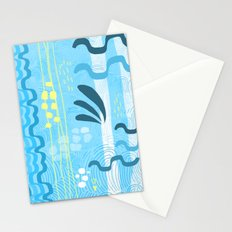 Water rays Stationery Cards