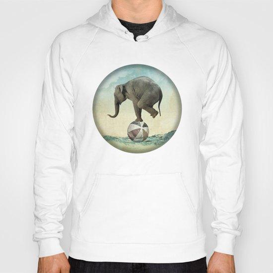 Elephant at Sea Hoody
