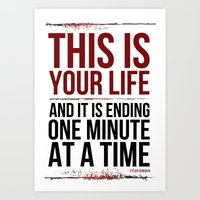 Fight Club - This is Your Life... Art Print