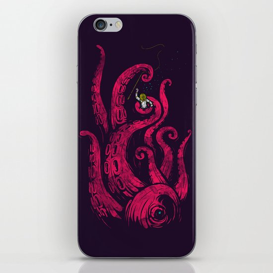 undersea attack (col. ver) iPhone & iPod Skin