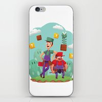 Mario and Luigi! iPhone & iPod Skin