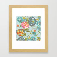 Garden Rocket Framed Art Print
