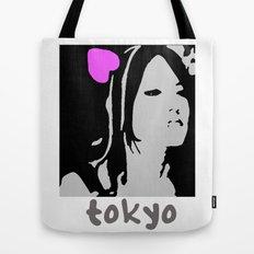 Love Tokyo Tote Bag