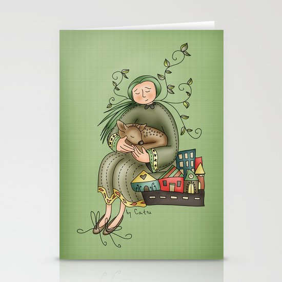 Don't worry Stationery Card