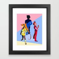 Wright Anything Agency Framed Art Print