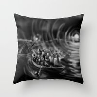 A cry was heard, a light was seen and bodies were found. Throw Pillow