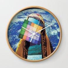 Atman Suffix Wall Clock