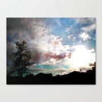 Fantasy Of A Blind Reali… Canvas Print