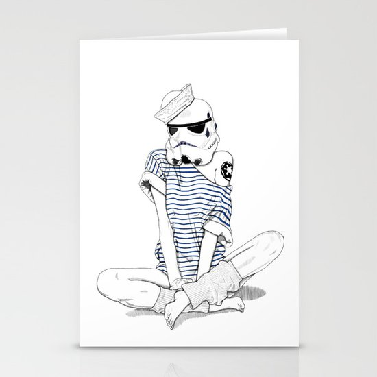 Sailortrooper Stationery Card