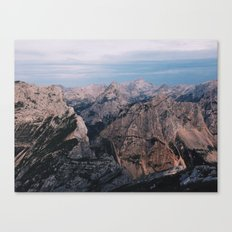 Just Mountains Canvas Print