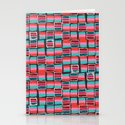 Pixel Pattern Stationery Cards