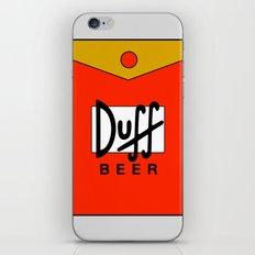 Duff Beer! iPhone & iPod Skin