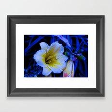 Altered Flower Image Framed Art Print