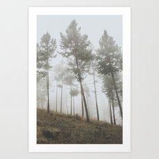 Fog IV Art Print