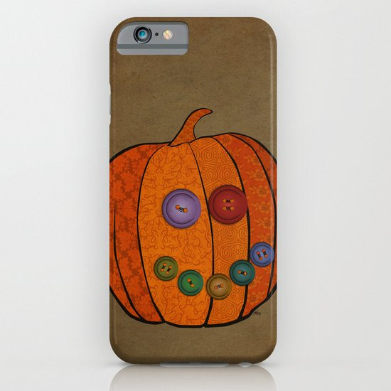 Patterned pumpkin  iPhone & iPod Case