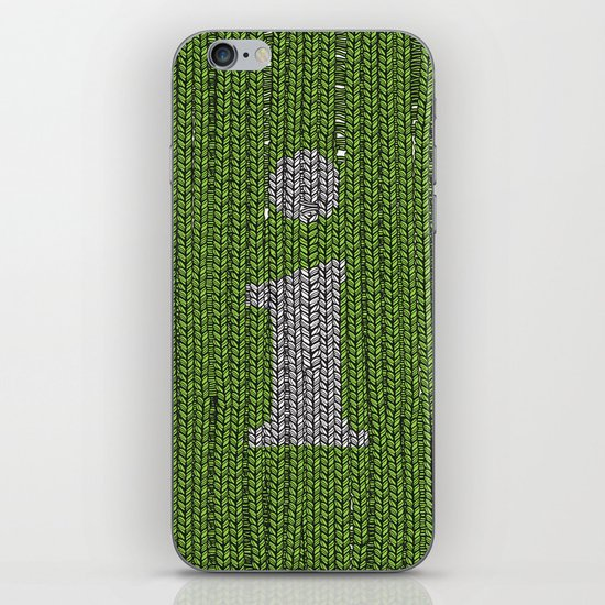 Winter clothes II. Letter i. iPhone & iPod Skin