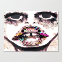 Born to Be Exteriorly Ugly Canvas Print