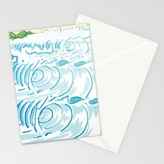 BIG WAVE Stationery Cards