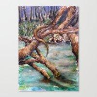 Moat Canvas Print