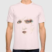 lucia Mens Fitted Tee Light Pink SMALL