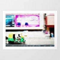Motoring Art Print
