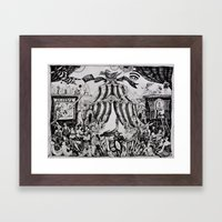 Circus of life II Framed Art Print