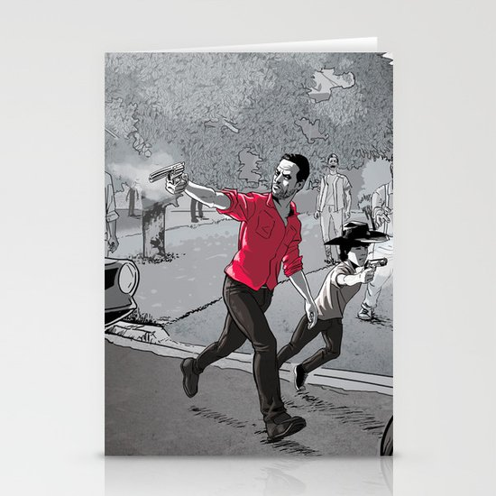 The Walking Dead Stationery Card