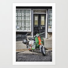 Lambretta Art Print