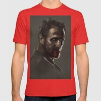 THIS SORROWFUL LIFE Mens Fitted Tee Red SMALL
