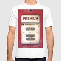Old Premiums Mens Fitted Tee White SMALL