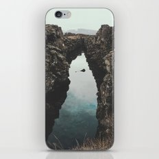 I left my heart in Iceland - landscape photography iPhone & iPod Skin
