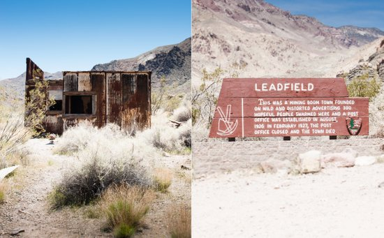Leadfield, Death Valley.  Art Print