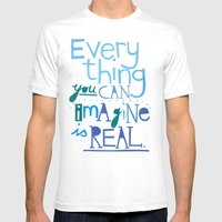 Everything You Can Imagi… Mens Fitted Tee White SMALL