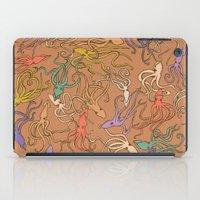 Squids Of The Inky Ocean… iPad Case