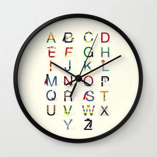 ABC SH Wall Clock