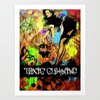 Toxic Cleaning  Art Print