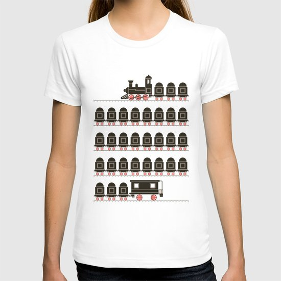 Stretched Out Locomotive  T-shirt
