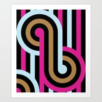 infinity Art Prints featuring Infinity by Michelle Nilson