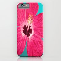 iPhone & iPod Case featuring Pink Hibiscus by maggs326