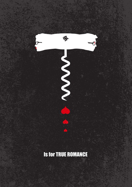 T is for True Romance Art Print